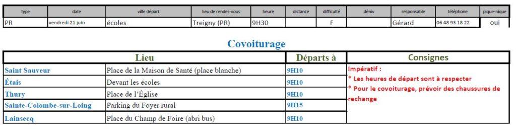Randonnée des écoles du 21 juin 2019 @ Château de Ratilly | Treigny | Bourgogne-Franche-Comté | France